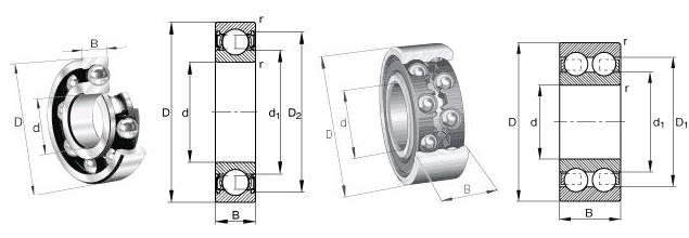 S601-X-2Z FAG深沟球轴承