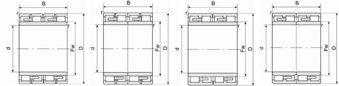 FC223080双列圆柱滚子轴承样本